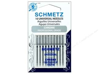Schmetz Machine Universal Needle Chrome Size 100/16 10pc