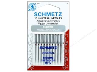 Schmetz Machine Universal Needle Chrome Size 80/12 10pc