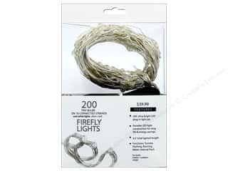 craft & hobbies: Sierra Pacific Crafts Lights Firefly LED 200 ct Cool White Silver Cord