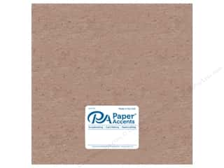 scrapbooking & paper crafts: Paper Accents Chipboard 12 x 12 in. 52 pt. Extra Heavy Natural 5 pc.