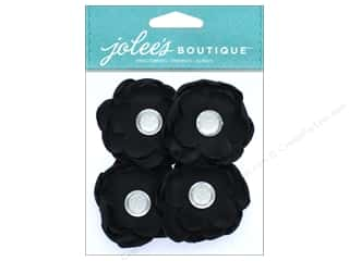 EK Jolee's Boutique Gem Florals Black