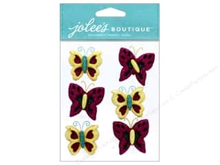 EK Jolee's Boutique Repeats Glitter Butterfly