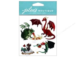 scrapbooking & paper crafts: EK Jolee's Boutique Dragons