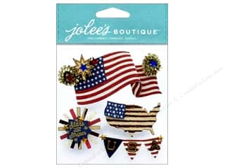 scrapbooking & paper crafts: EK Jolee's Boutique American Flag