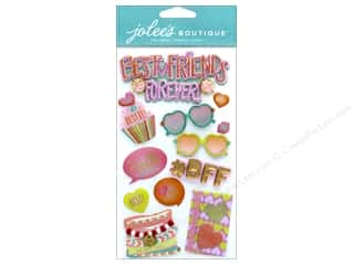 stickers: EK Jolee's Boutique Large Best Friends Forever