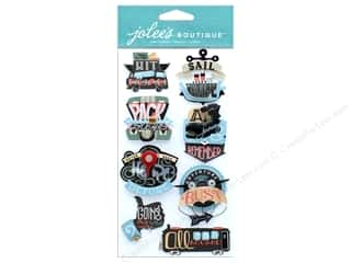 stickers: EK Jolee's Boutique Large Travel Words