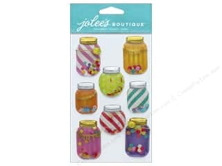 stickers: EK Jolee's Boutique Large Confetti Mason Jar Domes