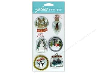 Ornament: EK Jolee's Boutique Large Ornament Snow Globes