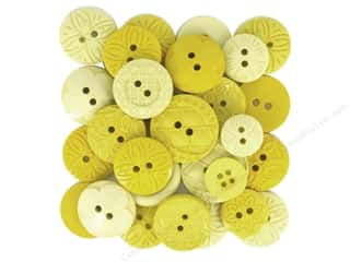 scrapbooking & paper crafts: Jesse James Embellishments Color Me Yellow