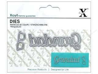die cutting machines: Docrafts Xcut Mini Die Grandad