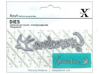 die cutting machines: Docrafts Xcut Mini Die Grandma