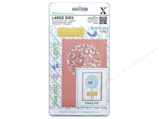rectangle die: Docrafts Xcut Large Die Folk Tree