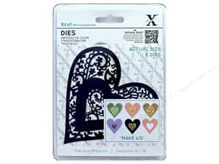 dies: Docrafts Xcut Die Folk Bird Heart