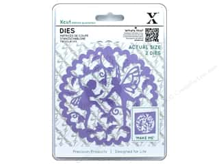 die cutting machines: Docrafts Xcut Die Woodland Fairies