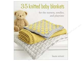 books & patterns: 35 Knitted Baby Blankets Book by Laura Strutt