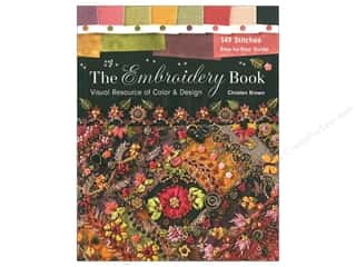 The Embroidery Book: Visual Resource of Color & Design Book by Christen Brown