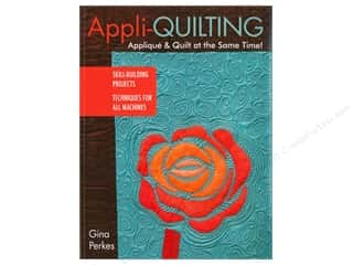 books & patterns: Appli-quilting - Applique & Quilt at the Same Time! Book by Gina Perkes