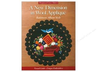 A New Dimension in Wool Applique - Baltimore Album Style Book by Deborah Gale Tirico