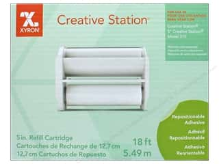 scrapbooking & paper crafts: Xyron 5 in. Refill Cartridge 18 ft. Repositionable Adhesive