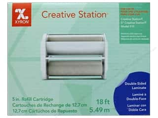 scrapbooking & paper crafts: Xyron 5 in. Refill Cartridge 18 ft. Two Sided Laminate
