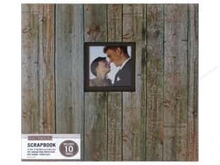 scrapbooking & paper crafts: K & Company 12 x 12 in. Scrapbook Window Album Weathered Wood