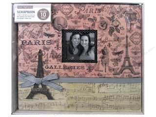 K & Company 12 x 12 in. Scrapbook Window Album Parisian Collage