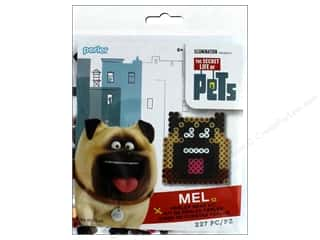 beading & jewelry making supplies: Perler Fused Bead Kit Trial Secret Life Of Pets Mel