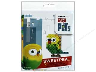 beading & jewelry making supplies: Perler Fused Bead Kit Trial Secret Life Of Pets Sweetpea