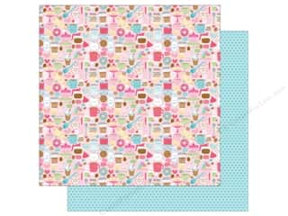 "Doodlebug Collection Cream & Sugar Paper 12""x 12"" Cream & Sugar (25 pieces)"