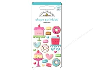 Doodlebug Collection Cream & Sugar Sprinkles Shape Cake Shoppe