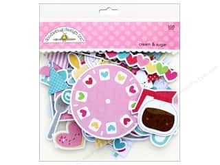 scrapbooking & paper crafts: Doodlebug Collection Cream & Sugar Odds & Ends