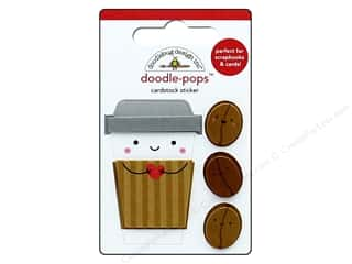Doodlebug Collection Cream & Sugar Doodle Pops Coffee Mates (12 sets)
