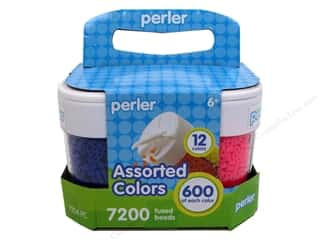 beading & jewelry making supplies: Perler Fused Bead In Storage Containers 7200pc
