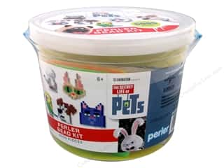 beading & jewelry making supplies: Perler Fused Bead Kit Bucket Secret Life Of Pets 6005pc