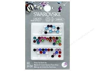 beading & jewelry making supplies: Cousin Swarovski Hotfix Rhinestones 60 pc. Mix Birthstone