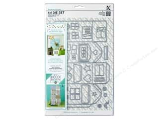 window die: Docrafts Xcut Die Set A4 Deco Design House