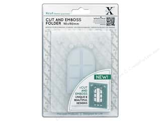 die cutting machines: Docrafts Xcut Cut & Emboss Folder A6 Cottage Window