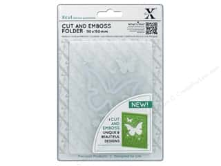 die cutting machines: Docrafts Xcut Cut & Emboss Folder A6 Butterfly Aperture