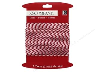 scrapbooking & paper crafts: K&Company Embellishments Woodland Twine Valentine