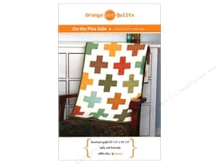 books & patterns: Orange Dot Quilts On The Plus Side Pattern