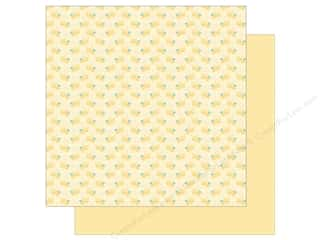 "Doodlebug Collection Spring Thing Paper 12""x 12"" Bitty Bees (25 pieces)"