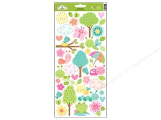 Doodlebug Collection Spring Thing Sticker Icons (12 sets)