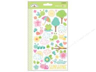 Doodlebug Collection Spring Thing Sticker Mini Icon (12 sets)