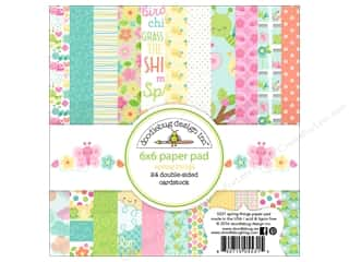 scrapbooking & paper crafts: Doodlebug 6 x 6 in. Paper Pad Spring Thing
