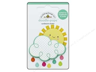 stickers: Doodlebug Collection Spring Thing Doodle Pops Hello Sunshine (12 sets)