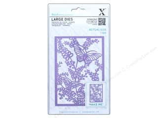 rectangle die: Docrafts Xcut Large Die Meadow Butterflies