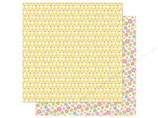 """Doodlebug Collection Easter Express Paper 12""""x 12"""" Chickie Babies (25 pieces)"""