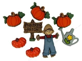 craft & hobbies: Jesse James Embellishments Pumpkin Patch