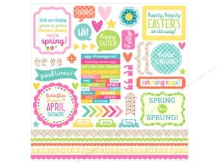 Doodlebug Collection Spring Thing Sticker This & That (12 sets)