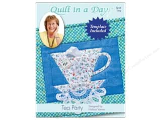 Clearance: Quilt In A Day Tea Party Pattern